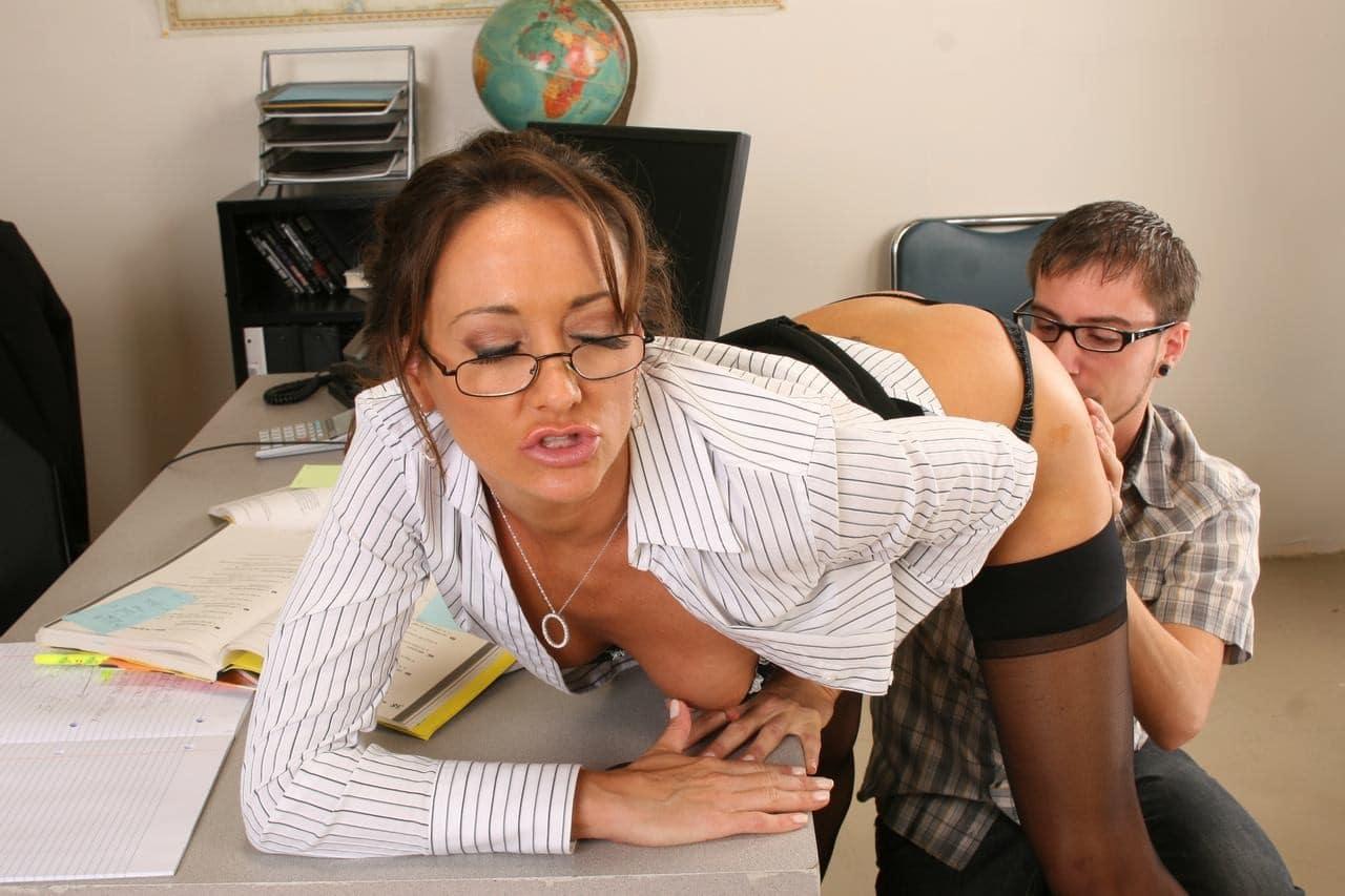učitelka a žák